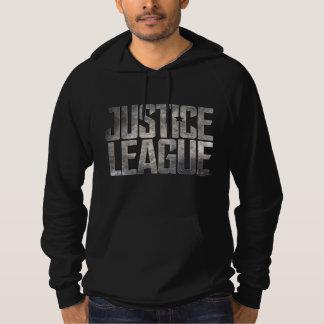 Justice League   Justice League Metallic Logo Hoodie