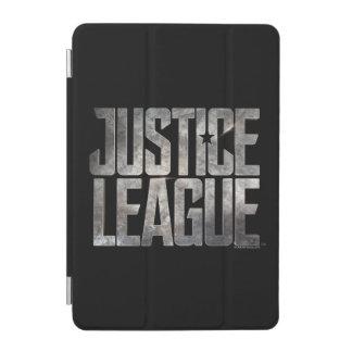 Justice League   Justice League Metallic Logo iPad Mini Cover