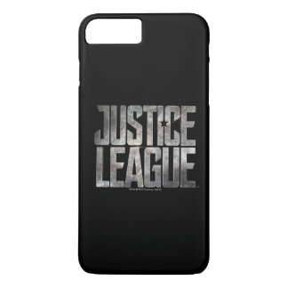 Justice League | Justice League Metallic Logo iPhone 8 Plus/7 Plus Case