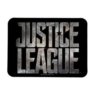 Justice League | Justice League Metallic Logo Magnet