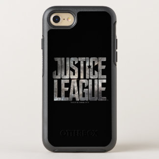 Justice League | Justice League Metallic Logo OtterBox Symmetry iPhone 8/7 Case