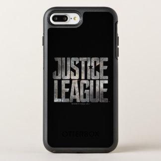 Justice League | Justice League Metallic Logo OtterBox Symmetry iPhone 8 Plus/7 Plus Case