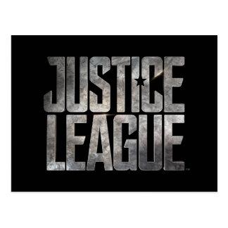 Justice League | Justice League Metallic Logo Postcard