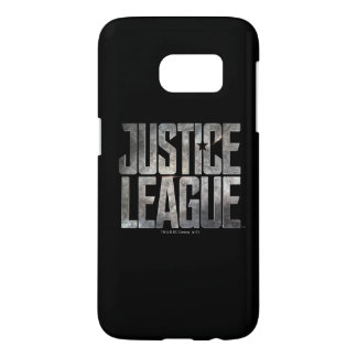 Justice League | Justice League Metallic Logo Samsung Galaxy S7 Case
