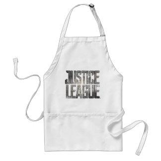 Justice League | Justice League Metallic Logo Standard Apron