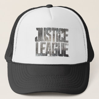 Justice League   Justice League Metallic Logo Trucker Hat