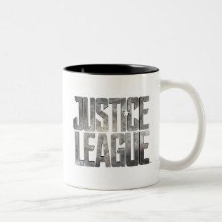 Justice League | Justice League Metallic Logo Two-Tone Coffee Mug
