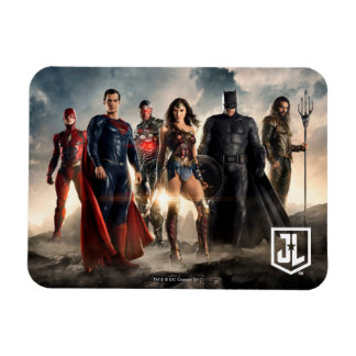 Justice League | Justice League On Battlefield Magnet
