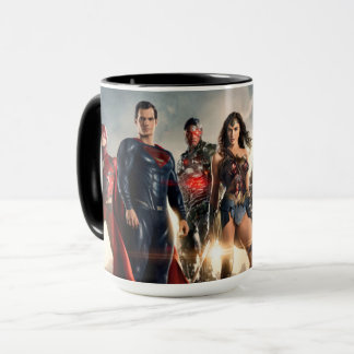 Justice League | Justice League On Battlefield Mug