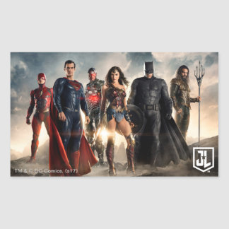 Justice League | Justice League On Battlefield Sticker