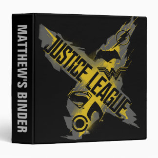 Justice League | Justice League & Team Symbols 3 Ring Binder