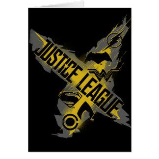 Justice League | Justice League & Team Symbols Card