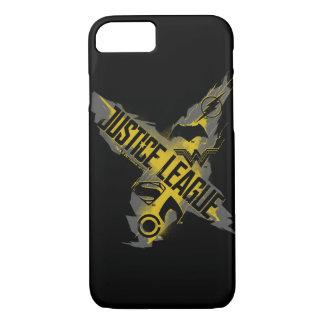 Justice League   Justice League & Team Symbols Case-Mate iPhone Case