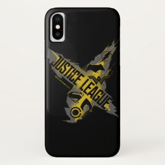 Justice League | Justice League & Team Symbols iPhone X Case