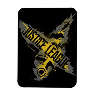 Justice League | Justice League & Team Symbols Magnet
