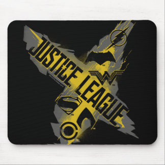 Justice League | Justice League & Team Symbols Mouse Pad