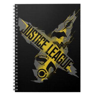 Justice League   Justice League & Team Symbols Notebooks