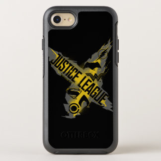 Justice League | Justice League & Team Symbols OtterBox Symmetry iPhone 8/7 Case