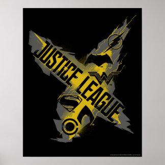 Justice League | Justice League & Team Symbols Poster