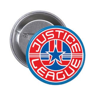 Justice League Logo 2 Inch Round Button