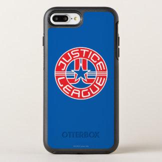 Justice League Logo OtterBox Symmetry iPhone 7 Plus Case