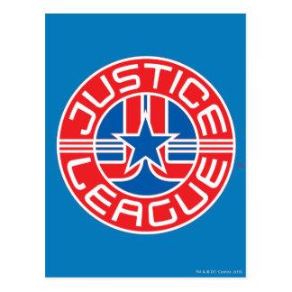 Justice League Logo Postcard