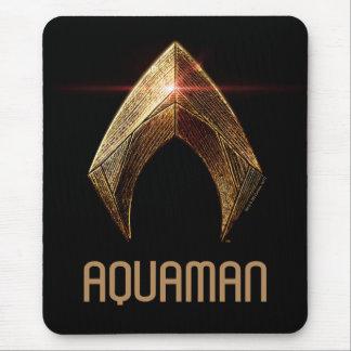 Justice League | Metallic Aquaman Symbol Mouse Pad