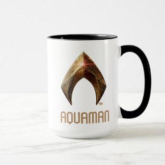 Justice League | Metallic Aquaman Symbol Mug