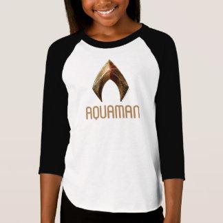 Justice League | Metallic Aquaman Symbol T-Shirt