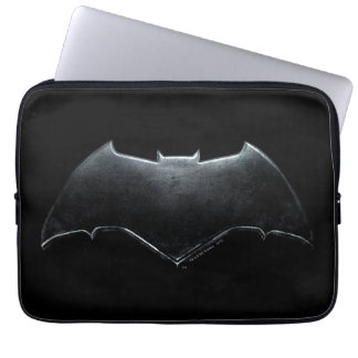 Justice League | Metallic Batman Symbol Laptop Sleeve
