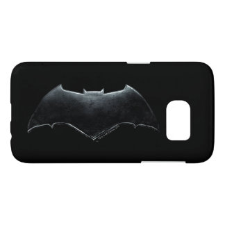 Justice League | Metallic Batman Symbol Samsung Galaxy S7 Case