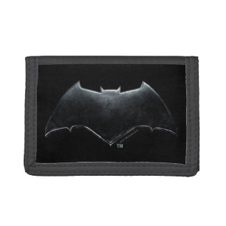 Justice League | Metallic Batman Symbol Tri-fold Wallet