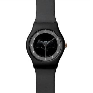 Justice League | Metallic Batman Symbol Watch