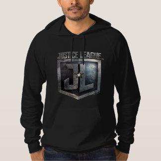 Justice League   Metallic JL Shield Hoodie
