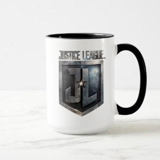 Justice League   Metallic JL Shield Mug