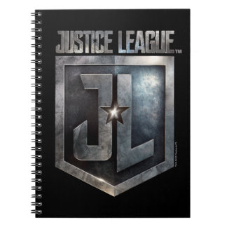 Justice League | Metallic JL Shield Notebook