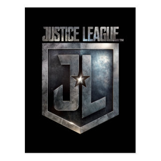 Justice League | Metallic JL Shield Postcard