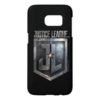 Justice League | Metallic JL Shield Samsung Galaxy S7 Case