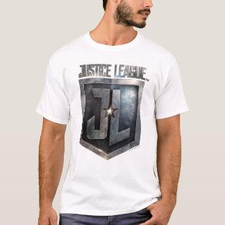 Justice League | Metallic JL Shield T-Shirt