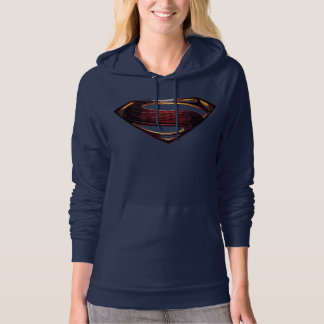 Justice League | Metallic Superman Symbol Hoodie