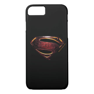 Justice League | Metallic Superman Symbol iPhone 8/7 Case