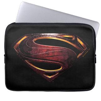 Justice League | Metallic Superman Symbol Laptop Sleeve