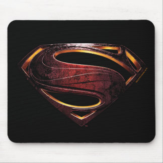 Justice League | Metallic Superman Symbol Mouse Pad