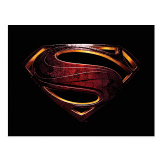 Justice League | Metallic Superman Symbol Postcard