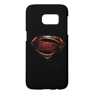 Justice League | Metallic Superman Symbol Samsung Galaxy S7 Case
