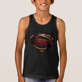 Justice League | Metallic Superman Symbol Tank Top
