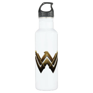 Justice League | Metallic Wonder Woman Symbol 710 Ml Water Bottle