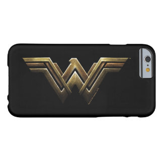 Justice League | Metallic Wonder Woman Symbol Barely There iPhone 6 Case
