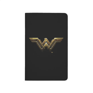 Justice League | Metallic Wonder Woman Symbol Journal