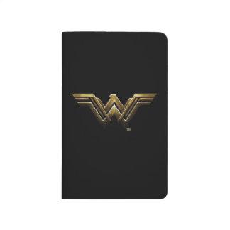 Justice League | Metallic Wonder Woman Symbol Journal